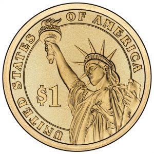Presidential $1 Coin - Reverse