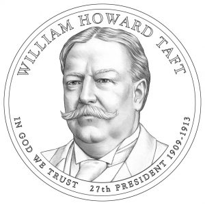 William Howard Taft Presidential $1 Coin Design