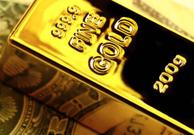 Dollar strength was among factors pressuring gold