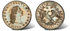 1794 Silver Dollar Coin Sells for World Record $10 Million