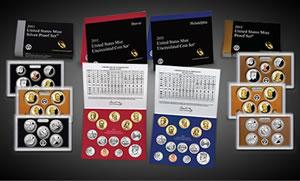 2011 US Mint Annual Sets