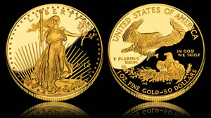2012-W $50 American Eagle Gold Proof Coin