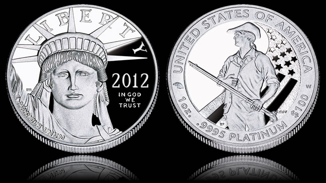 2012-W Proof American Platinum Eagle Coin