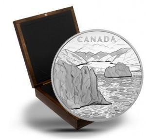 2013 $250 Canada's Arctic Landscape 1 Kilo Silver Coin