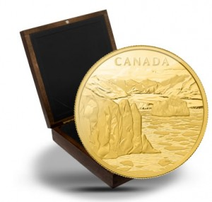 2013 $2,500 Canada's Arctic Landscape 1 Kilo Gold Coin