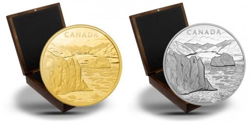 2013 Canada's Arctic Landscape Gold and Silver Kilo Coins