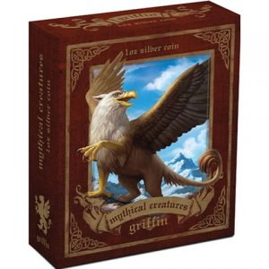 2013 Griffin Silver Proof Coin in Shipper