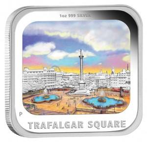 2013 Trafalgar Square Silver Proof Coin