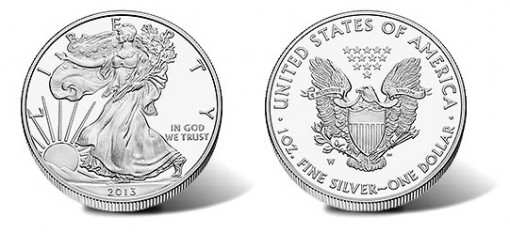 2013-W Proof American Silver Eagle Coin