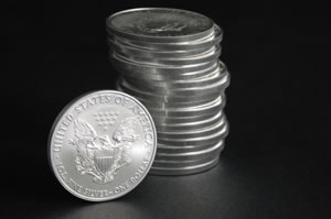 American Eagle silver coins