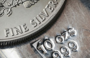 American Silver Eagle and Silver Bullion Bar