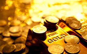 Gold and coins