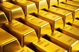 Layers Gold Bars