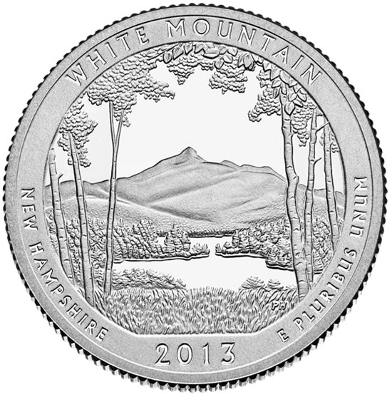 White Mountain National Forest Quarter