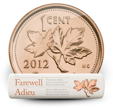 2012 Canadian Penny and Circulation Roll