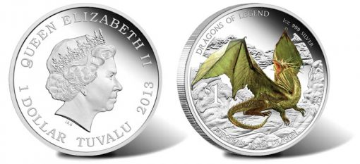 2013 European Green Dragon Coin