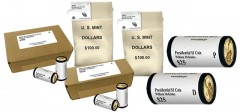 2013 P&D William McKinley Presidential $1 Coins - Rolls, Bags and Boxes