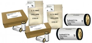 William McKinley Presidential $1 Coins in Rolls, Bags and Boxes