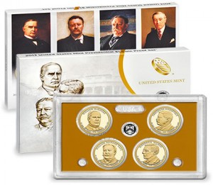 2013 Presidential Dollar Proof Set