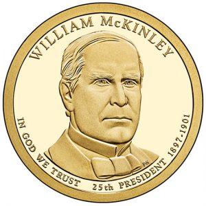 2013 for William McKinley Presidential $1 Coin