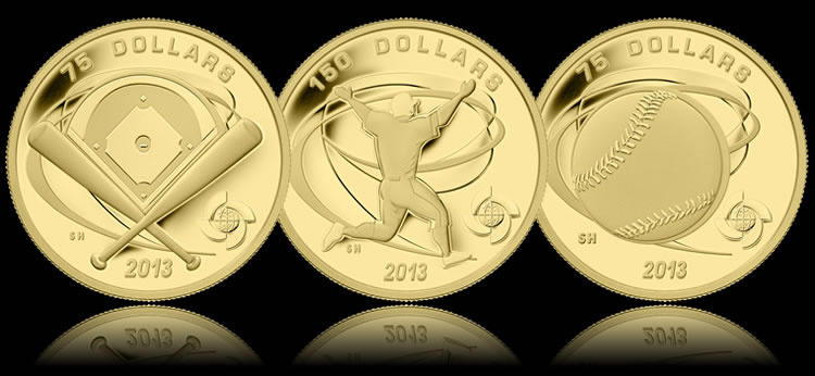 Canadian 2013 World Baseball Classic Commemorative Coins