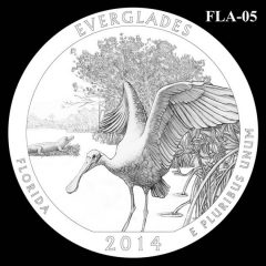 Everglades National Park - Quarter and Coin Design Candidate FLA-05
