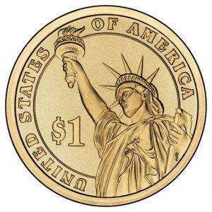 Presidential dollar, reverse