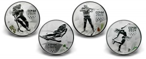 Russian Sochi 2014 Winter Olympics Commemorative Coins