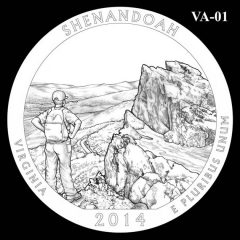 Shenandoah National Park - Quarter and Coin Design Candidate VA-01