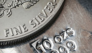 US Silver Bullion Coin and Bullion Bar
