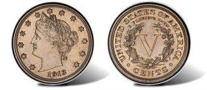 Walton 1913 Liberty Nickel On Display In Baltimore