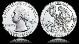 2012-P El Yunque 5 Oz Silver Uncirculated Coin