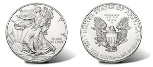 Gold Drops Below $1,400; Silver Eagle Bullion Coins Top 20M