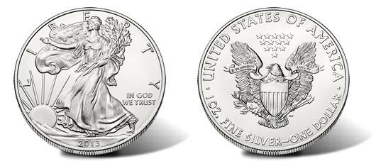 2013 American Silver Eagle Bullion Coin