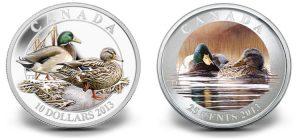 2013 Canadian Mallard Coins Celebrate DUC Anniversary
