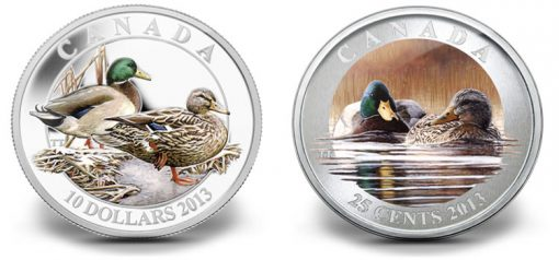 2013 Canadian Mallard Coins