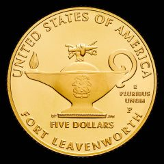 2013-P Uncirculated 5-Star Generals $5 Gold Coin