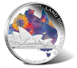 2013 Sydney Opera House 10 oz Silver Proof Coin