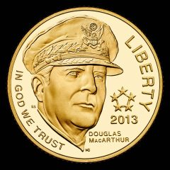 2013-W Proof 5-Star Generals $5 Gold Coin