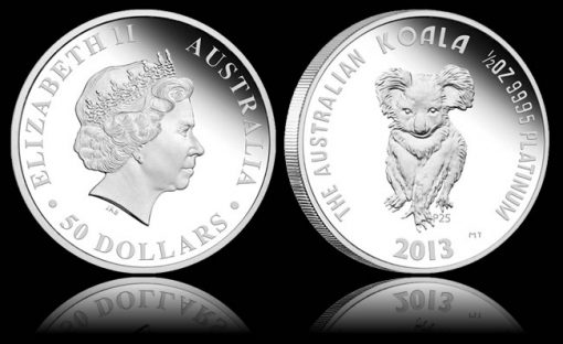25th Anniversary Platinum Koala Coin