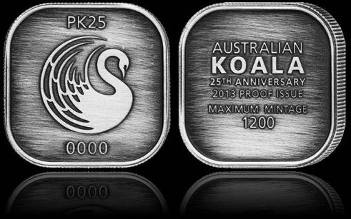 25th Anniversary Silver Medallion