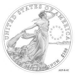 (AEP-02) 2013 American Platinum Eagle Design Candidate