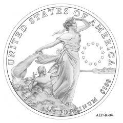 (AEP-04) 2013 American Platinum Eagle Design Candidate