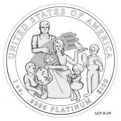(AEP-09) 2013 American Platinum Eagle Design Candidate