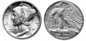 American Eagle Palladium coin designs