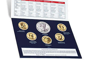 Annual Uncirculated Dollar Coin Set