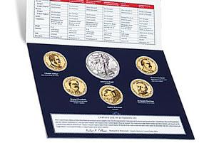 Annual Uncirculated Dollar Coin Set