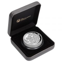 Case for the 2013 Australian Koala 5 oz. High Relief Silver Proof Coin