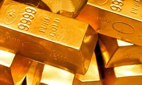 Gold bullin bars