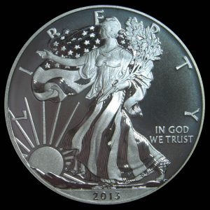 Obverse Image of 2013-W Enhanced American Eagle Silver Uncirculated Coin